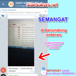 testimoni auto follow shopee